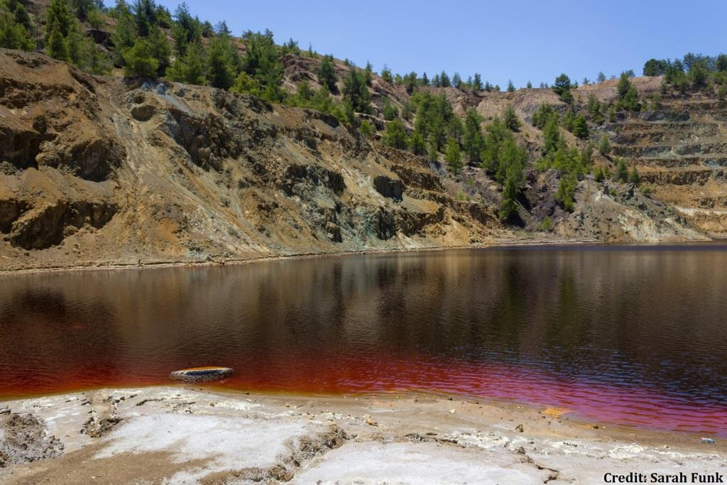 Cyprus serial killer dumped some victims at this toxic lake