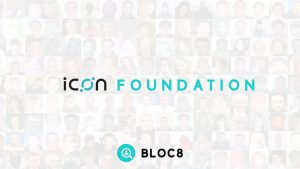 ICON Foundation blockchain used by BLOC8
